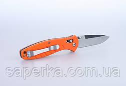Нож походный Ganzo (черный, зеленый, оранжевый) G738-BK, фото 2