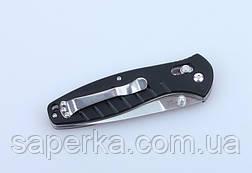 Нож походный Ganzo (черный, зеленый, оранжевый) G738-BK, фото 3