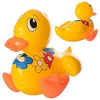 Надувная игрушка MSW 017 (300шт.) цыпленок 44см, в кульке15-16см