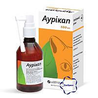 Аурікап  антисептичний засіб для очищення слухових проходів собак і котів
