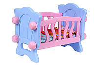 Кроватка для куклы 4166, 44х31х27 см