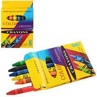 """Мелки пастельные 8PC """"Crayons"""", 8 цветов (Y)"""