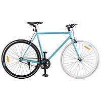 """Шоссейный трековый велосипед Profi 28"""" (G56 JOLLY S700C-1) 28"""" Бело-голубой"""