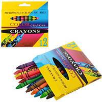 """Мелки пастельные 12PC-1 """"Crayons"""", 12 цветов (Y)"""