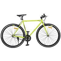 """Шоссейный трековый велосипед Profi 28"""" G56JOLLY S700C-3, салатовый"""