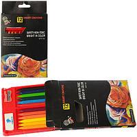 """Мелки пастельные Z0151 """"Smart Crayons"""", 12 шт. (Y)"""