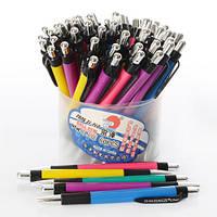 Ручка 506 (2400шт.) автоматическая, синий, микс цветов, 60шт. в дисплее, 12-12,5-10см