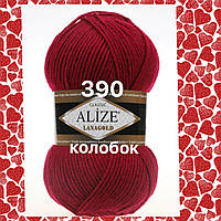 Пряжа для ручного вязания Alize LANAGOLD (Ализе ланаголд)   390 вишня