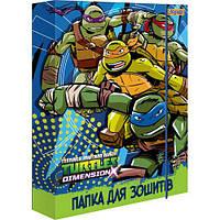 """Папка для тетрадей 491281 """"Ninja Turtles"""", В5 (Y)"""