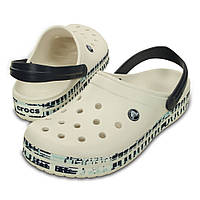 Кроксы мужские шлепанцы Крокбенд Меш Принт Сабо оригинал / Crocs Crocband Mesh Print Clog