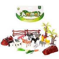 """Набор животных 0019P """"Animal"""", 14 шт. (Y)"""