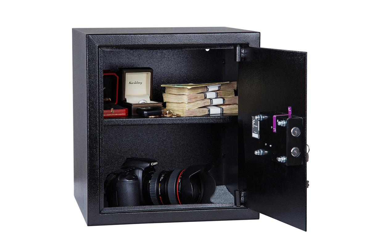Сейф БС-38К.П1.9005((ШхВхГ: 350х380х360 мм) для офиса и дома