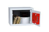 Сейф  БС-15К.7035 (ШхВхГ-210х150х170 мм) мебельный, офисный для дома или автомобиля