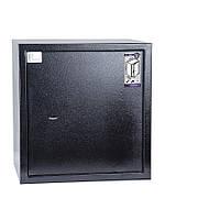 Сейф БС-46К.П2.9005  (ВхШхГ 440х460х380 мм) для офиса и дома., фото 1