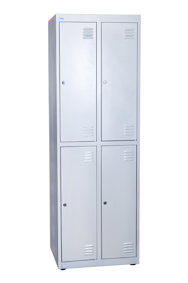 Одежный шкаф НО 24-01-06х18х05-Ц-7035 БЕСПЛАТНАЯ ДОСТАВКА!