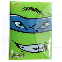 "Папка-конверт на кнопке А4 ""Ninja Turtles"""