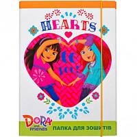 """Папка для тетрадей ПП03/18 """"Dora"""", В5"""