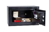Сейф ЕС-20К.9005 (ШхВхГ: 320х200х260 мм.) для офиса и дома, фото 1