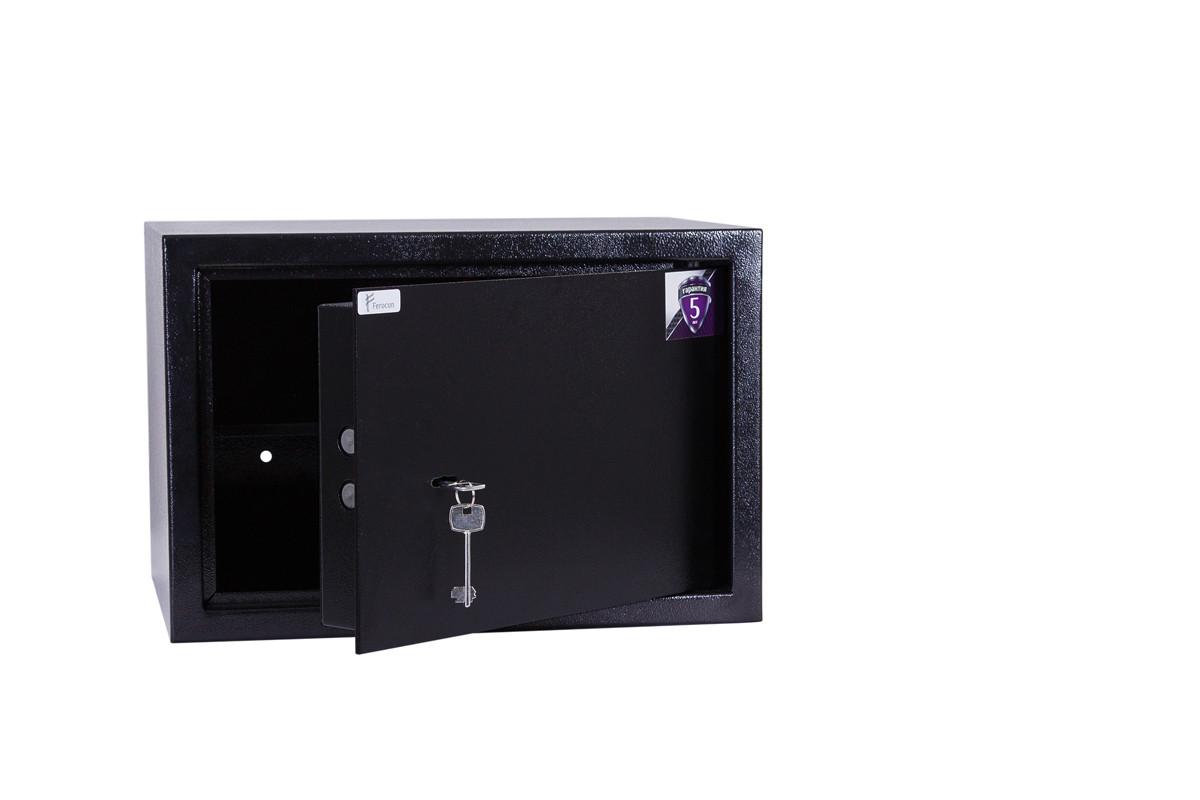 Сейф ЕС-30К.9005 (ШхВхГ: 450х300х350 мм.)для офиса и дома БЕСПЛАТНАЯ ДОСТАВКА !