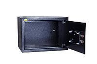 Сейф БС-25К.9005 (ВхШхГ - 350х250х250 мм.)  для офиса и дома
