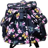 "Рюкзак молодёжный 6990 ""Butterfly"", 35х34х16 см"