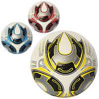 Мяч футбольный 2500-26ABC (30шт) размер5,ПУ1,4мм,32панели,400-420г,3цвета,