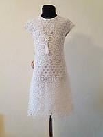 Платье ажурное, 5-8 лет