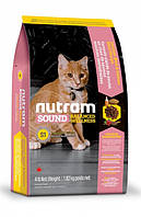 S1 Nutram Sound Balanced Wellness Kitten 20кг-корм для котят