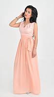 """Нарядное красивое длинное  платье  """"164"""""""