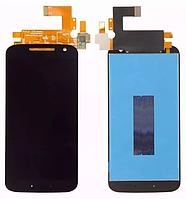Оригинальный дисплей модуль +тачскрин сенсор Motorola Moto G4 XT1620 XT1621 XT1622 XT1624 XT1625 XT1626 черный