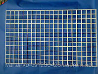 Сетка торговая металлопластиковая ф 2 мм яч 100х100 мм, фото 1