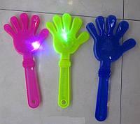 Волшебная палочка, 28 см 4 цвета свет, в пак. 30*10см (300шт/3)(5033)