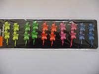 Невидимки цветные3, цена за пл., в пл. 10шт., 24*7см(Н240008)