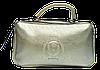Стильная женская сумочка из кожи цвета золота BBZ-094536