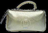 Стильная женская сумочка из кожи цвета золота BBZ-094536, фото 1
