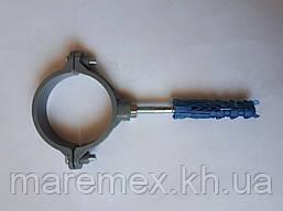 Пластиковый крепёж для труб д.50 (500/25 шт)