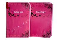 Папкадляработы BLACK CAT,А4,картонная,глитерс двух сторон, Мультяшки, 34*24см(7871)