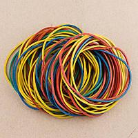 Резинка для денег(цветная в пак.) 500г(8011)