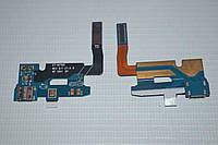Шлейф (Flat cable) с коннектором зарядки, микрофона для Samsung Galaxy Note 2 N7100   N7102   N7105   N7108