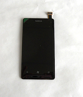 Оригинальный дисплей (модуль) + тачскрин (сенсор) для Nokia Lumia 800