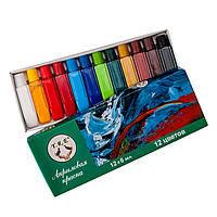 Краски акриловые набор 12 цв. 6 мл., фото 1
