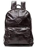 Женский кожаный рюкзак Tiding Bag 9007J черный