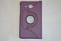 Поворотный 360° чехол-книжка для Samsung Galaxy J Max 7.0 T285YD T285YZ (фиолетовый цвет)