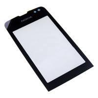 Тачскрин / сенсор (сенсорное стекло) для Nokia Asha 311 (черный цвет)
