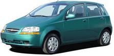 Чехлы на Chevrolet Aveo хэтчбек (2002-2008 гг.)