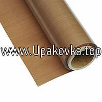 Тефлоновая ткань (стеклоткань)  Толщина 130 мкм. Ширина 1000 мм.