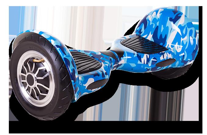 Гироскутер Smart Balance U 8 - 10 дюймов Blue Camo