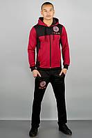 Мужской спортивный костюм Гранж (бордовый)