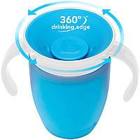 Чашка-непроливайка Miracle 360 207 мл голубая Munchkin 01209401.01