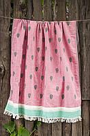 Полотенце пляжное Watermelon 90х160см красное Barine